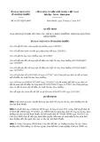 Quyết định số 61/2017/QĐ-UBND tỉnh Bình Phước