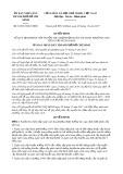 Quyết định số 63/2017/QĐ-UBND TP HCM