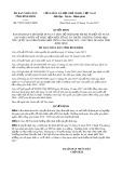 Quyết định số 79/2017/QĐ-UBND tỉnh Bình Định
