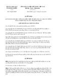 Quyết định số 109/2017/QĐ-UBND tỉnh Bình Phước