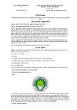 Quyết định số 2133/QĐ-TTg năm 2017