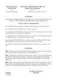 Quyết định số 58/2017/QĐ-UBND tỉnh Bắc Kạn