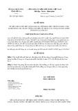 Quyết định số 3247/QĐ-UBND tỉnh Sơn La