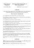 Quyết định số 59/2017/QĐ-UBND tỉnh Bắc Kạn