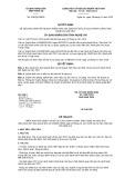Quyết định số 216/QĐ-UBND tỉnh Nghệ An