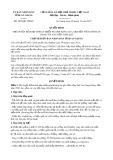 Quyết định số 3878/QĐ-UBND tỉnh An Giang