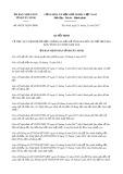 Quyết định số 48/2017/QĐ-UBND tỉnh Tây Ninh