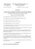 Quyết định số 141/2017/QĐ-UBND