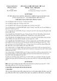 Quyết định số 3950/QĐ-UBND tỉnh An Giang