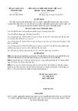 Quyết định số 2201/QĐ-UBND tỉnh Bắc Kạn