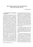 Tiểu thuyết lịch sử Việt Nam đương đại một số xu hướng chủ yếu