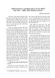 Mối giao lưu văn hóa giữa các sứ thần Đai Viêt ̣ – Triều Tiên trong lich sử