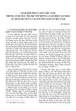 Giáo hội phật giáo Việt Nam trong cuộc đấu tranh với những luận điệu sai trái về nhân quyền và tự do tôn giáo ở Việt Nam