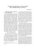 Vai trò của hiến pháp và việc tổng kết thực thi hiến pháp của nước ta