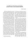 Tư tưởng và tấm gương về xây dựng lối sống mới của chủ tịch Hồ Chí Minh