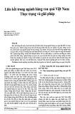 Liên kết trong ngành hàng rau quả Việt Nam: Thực trạng và giải pháp