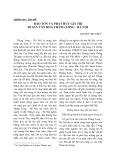 Bảo tồn và phát huy giá trị di sản văn hoá Thăng Long - Hà Nội