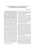 Sự thống nhất giữa tư tưởng đạo đức và tấm gương đạo đức Hồ Chí Minh
