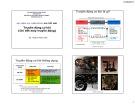 Bài giảng học phần Chi tiết máy: Truyền động cơ khí - TS. Phạm Minh Hải