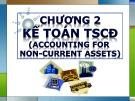 Bài giảng Kế toán tài chính - Chương 2: Kế toán tài sản cố định