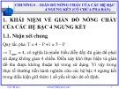 Bài giảng Giản đồ pha: Chương 6 - Nguyễn Văn Hòa