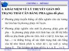Bài giảng Giản đồ pha: Chương 1 - Nguyễn Văn Hòa