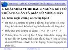 Bài giảng Giản đồ pha: Chương 2 - Nguyễn Văn Hòa