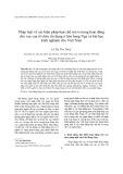 Pháp luật về các biện pháp hạn chế rủi ro trong hoạt động cho vay của tổ chức tín dụng ở liên bang Nga và bài học kinh nghiệm cho Việt Nam