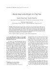Quyền riêng tư trên thế giới và ở Việt Nam