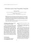 Chế độ hợp tác quốc tế trong Tố tụng Hình sự Trung Quốc