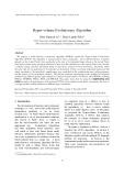 Hyper-volume Evolutionary Algorithm