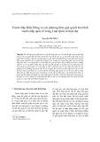 Tranh chấp Biển Đông và các phương thức giải quyết hòa bình tranh chấp quốc tế trong Luật Quốc tế hiện đại