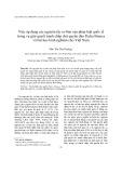 Việc áp dụng các nguyên tắc cơ bản của pháp luật quốc tế trong vụ giải quyết tranh chấp chủ quyền đảo Pedra Branca và bài học kinh nghiệm cho Việt Nam