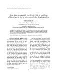 Hoàn thiện các quy định của Bộ luật Hình sự Việt Nam về bảo vệ quyền của phụ nữ trên cơ sở tiếp thu pháp luật quốc tế