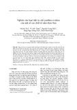 Nghiên cứu hoạt tính ức chế xanthine oxidase của một số cao chiết từ nấm dược liệu