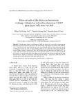 Khảo sát một số đặc điểm của bacteriocin ở chủng vi khuẩn Lactobacillus plantarum UL487 phân lập từ mẫu chao của Huế
