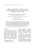 Influence of Hydrotalcite Containing Corrosion Inhibitormodified by Silane on Corrosion Protection Performance of Epoxy Coating
