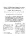 Nghiên cứu điều kiện phù hợp để thu nhận sinh khối nấm men giàu kẽm từ chủng Saccharomyces pastorianus CNTP 4054