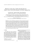 Phân lập và tuyển chọn vi khuẩn sinh tổng hợp IAA (Indole Acetic Acid) từ đất trồng sâm Việt Nam ở Quảng Nam