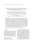 Nghiên cứu ảnh hưởng của phân bón nano kim loai đến chủng vi khuẩn Pseudomonas sp. 52