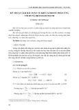 Kỹ thuật giải bài toán về khí cacbonic phản ứng với dung dịch bazơ mạnh