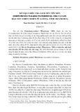 Kết quả điều tra loài xén tóc đen Dorysthenes Walker (Waterhouse. 1984) tại khu bảo tồn thiên nhiên Pù Luông, tỉnh Thanh Hóa