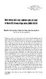 Nét riêng của các nghiên cứu về giới ở Nam Bộ trong thập niên 2000-2010