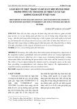 Luận bàn về thực trạng và đề xuất một số giải pháp trong công tác thi hành án treo và cải tạo không giam giữ ở Việt Nam