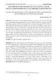Giải trình tự gen 16s -  rRNA của các loài cua xanh (scylla paramamosain) và xác định quan hệ di truyền
