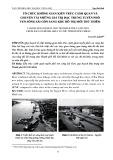 Tổ chức không gian kiến trúc cảnh quan và chuyển tải những giá trị đặc trưng tuyến phố ven sông Sài Gòn sang khu đô thị mới Thủ Thiêm