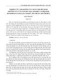 Nghiên cứu ảnh hưởng của giàn che đến sinh trưởng của cây con sến mật (Madhuca Pasquieri (Dubard) H.J.Lam) tại Tam Quy, Hà Trung, Thanh Hóa