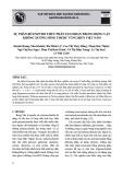Sự phân bổ Enzym thủy phân Fucoidan trong động vật không xương sống thuộc vùng biển Việt Nam