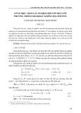 Dáng điệu tiệm cận nghiệm đối với một lớp phương trình parabolic không địa phương