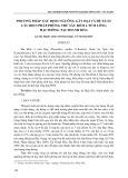 Phương pháp xác định ngưỡng gây hại và đề xuất các biện pháp phòng trừ sâu róm 4 túm lông hại thông tại Thanh Hóa